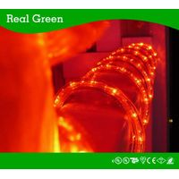 10Ft Red LED Rope Light 3/8 Inch