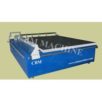 glass cutting table of glass machine