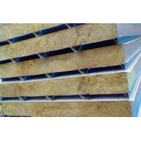 low price rock wool sandwich panel