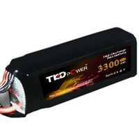 TKD li-ion lithium polymer battery 3300mAh 35C 22.2V 6S Lipo battery rechargable