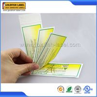 Made in China multi-layered extend adhesive label