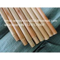 wholesale varnished wooden floor mop handle