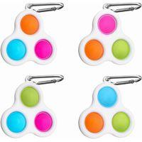 www.ottnovelty.com 900025 mini bubble popper Fidget Keychain