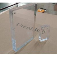 Customized size clear acrylic photo and picture frame