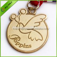 peace dove award metal medal with ribbon thumbnail image