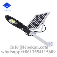 New style 20w 30w 40w 50w 100w integrated solar panel street light thumbnail image