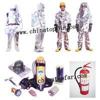 Marine Fireman outfit,breathing apparatus,chemical clothes,scrambling net thumbnail image