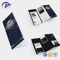 Customized promotion booket brochure catalogue printing service from china factory
