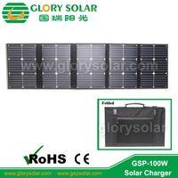 2015 hot sale 100w portable folding solar panel bag thumbnail image