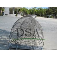 military Concertina Cross Razor Wire