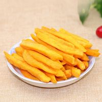Dried yellow sweet potato