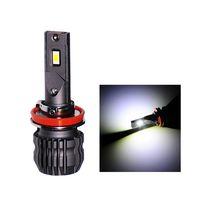 EXONTEK 50W S30 H7 H8 H11 9005 9006 9012 Fanless Car LED Light Auto Headlight CSP 3570