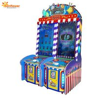 Latest Coin Operated Games 55 Inch Full HD Single Version Indoor Lucky Fish Frenzy Game