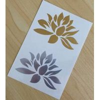 Fashionable Lotus Metallic Body Tattoo Sticker