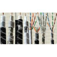 coaxial cables and lan cable