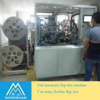 Full-auto flap disc making machine from China factory
