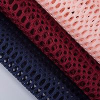 Double-sided large-hole mesh cloth Bright and small-sized hole car sofa seat mesh baby carrier net thumbnail image