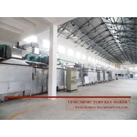 Urea molding compound production line