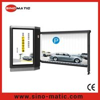 Parking System Automatic Advertising Boom Barrier Gate