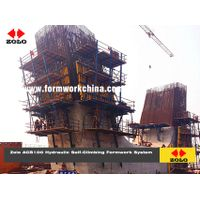 Zolo Hydraulic Self Climbing Formwork System Jump Forming Slip Forming Sliding Formwrok ACB100/50