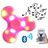 Led fidget toy focus hand spinner toy bluetooth speaker hand Spinner for Reduce pressure thumbnail image