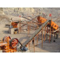 Hour Capacity 100t Stone Crushing Production Line