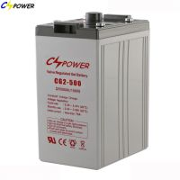 CG2-500 2V 500AH Long Life Deep Cycle Gel Battery