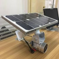 OKEYSET solar power wireless camera