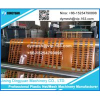 plastic orange fence making machine