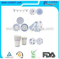 Hot sells blue and white Chinese style tableware set