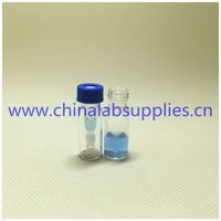 Factory sale 250ul Glass Insert chromatography hplc vials in laboratory bottles