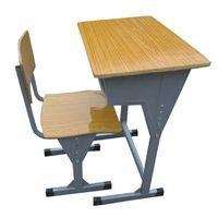 supplier height adjustable school student desk and chair/School chair and desk set for students thumbnail image