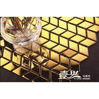 Metallic mosaic tile, stianless steel mosaic tile. thumbnail image