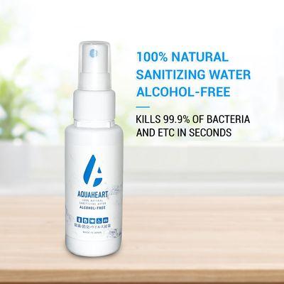[Sanitizer] AQUAHEART 80ml (Sister product of AQUAINT)
