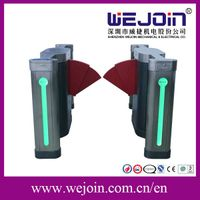 Automatic Flap Barrier Gate, barrier gates With Widen Flap and Safe Internal Construction Design