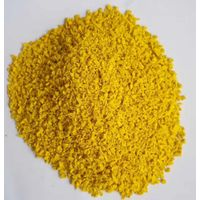 Yellow EPDM rubber granules for soccer field