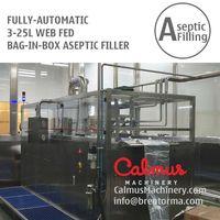 3-25L WEB-Fed Bag Filler Juice Dairy Bag in Box Aseptic Filling Machine