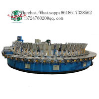 Fully automatic robotic pu insole making injection low pressure machine soles banana type production thumbnail image