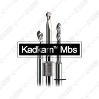 Kadkam Mbs dental milling burs for CAD/CAM milling disc zirconia blank milling cutters