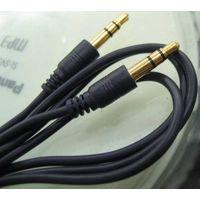 Audio Cable (Jack Male to Jack Male) Premium 2m ,3.5   ST PLUG M-M AUDIO CABLE 2M
