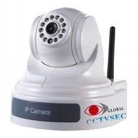 Wireless PTZ IP CAMERA with 10X optical zoom thumbnail image