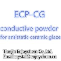 white conductive pigment for antistatic ceramic glaze