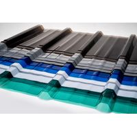 Polycarbonate sheet, corrugated sheet, patio, sunshade, roofing