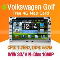 Android Car DVD Player for Volkswagen Golf Navigation Wifi 3G