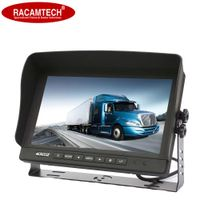 Stand Alone 2-CH TFT LCD 9 Inch Rear View Bus Truck Security Rear Vision Car Monitor