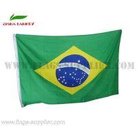 Custom Made Design World Brazil Flag