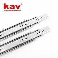 kav 45mm soft close drawer slides[full extension ball bearing drawer slides]
