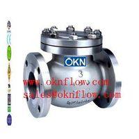 17  A890 Grade 4A/5A/6A flanged check valve