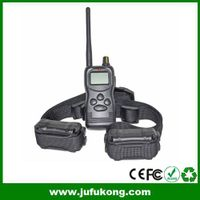 1000M Big LCD Display Remote Training Collar for 2 Dogs