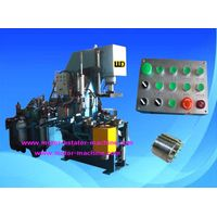 4 rotary stations 8 seconds automatic rotor casting machine with aluminum melt furnace thumbnail image